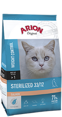 ARION Adult Cat Sterilized 33/12 Salmon 7,5 кг