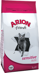 ARION Friends Adult Cat Sensitive 31/15 3 кг