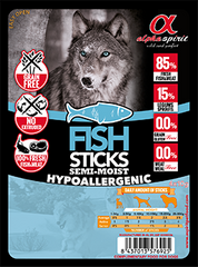 Alpha Spirit Fish Sticks (рыба) 4х10 г