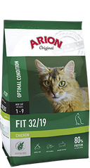 ARION Adult Cat Fit 32/19 Chicken 2 кг